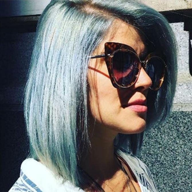 4 WAYS TO WEAR IT: AQUA HAIR