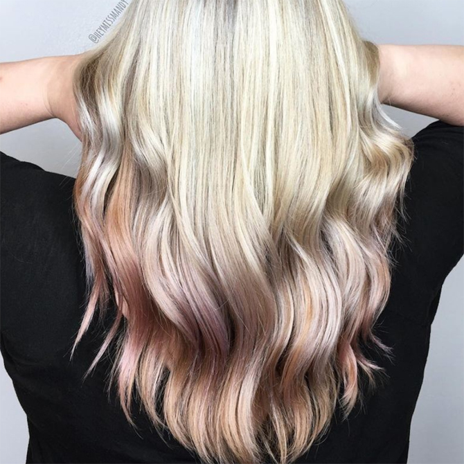 REVERSE BALAYAGE IS THE NEW GO-TO TREND FOR SUN-KISSED HAIR
