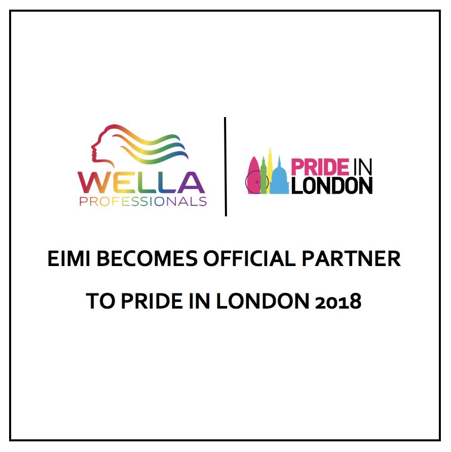 Wella Professionals pride in London