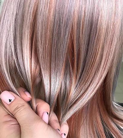 Metallic hair created from using Illumina Color and Koleston Perfect