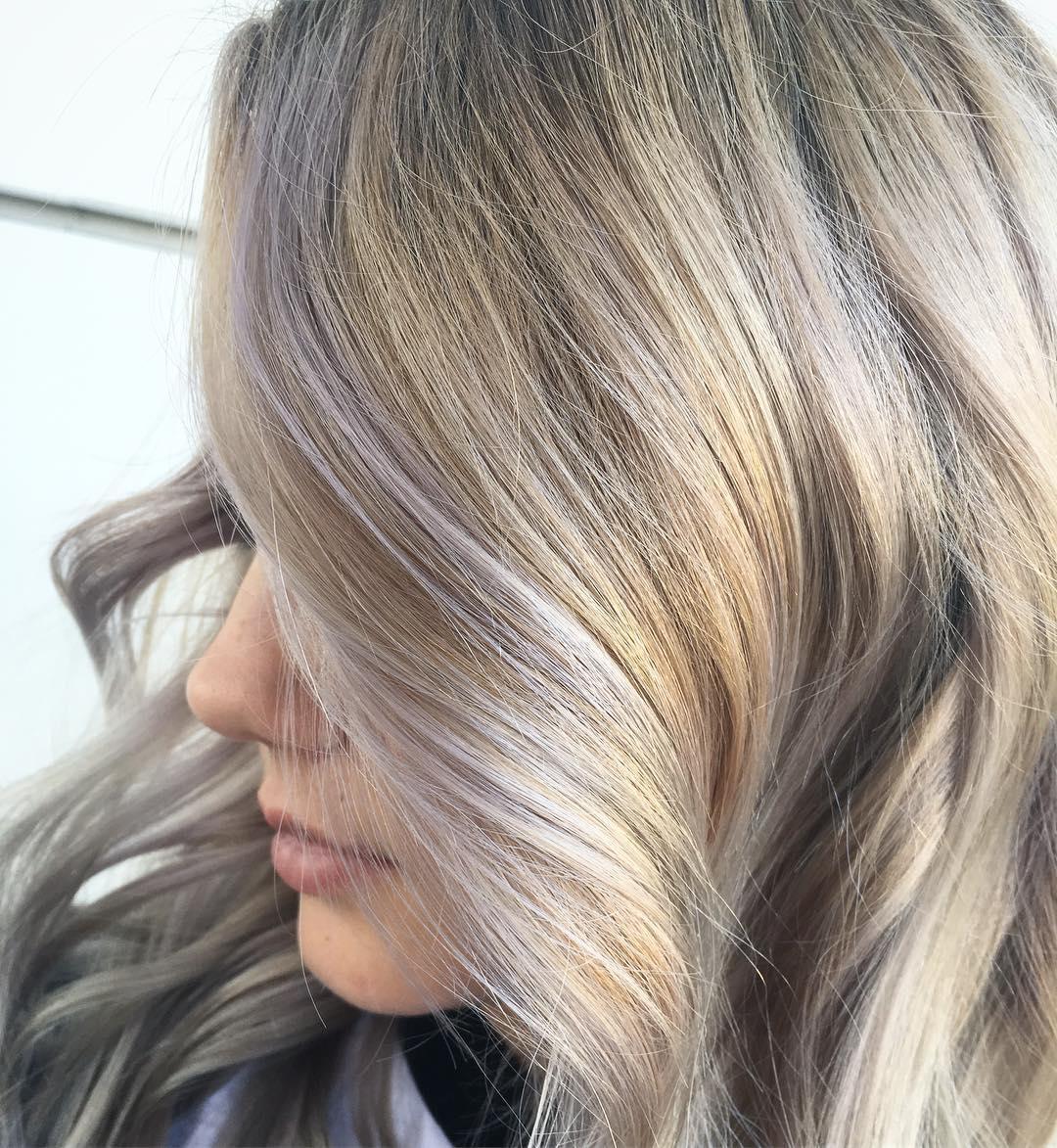 3 Ways To Wear It Violet Blonde Hair Wella Stories
