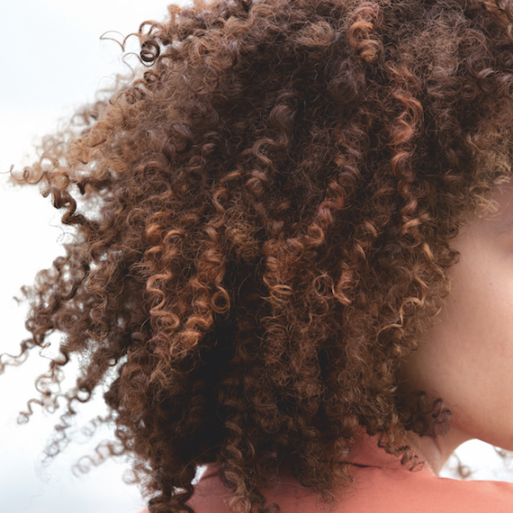 Colored curly hair by Wella Professionals