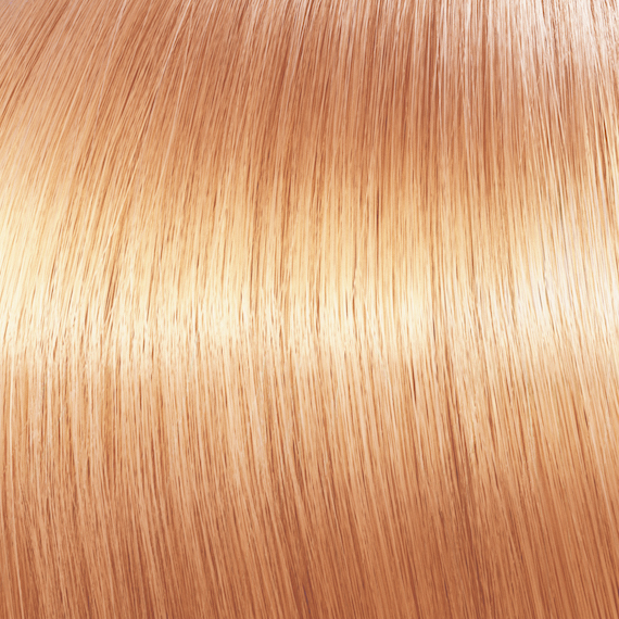 Copper peach Opal-Essence hair color by Wella Professionals