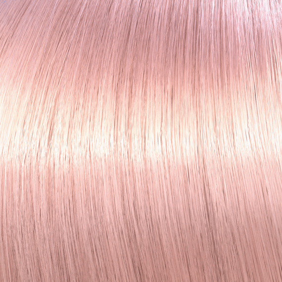 Rose gold Opal-Essence hair color by Wella Professionals