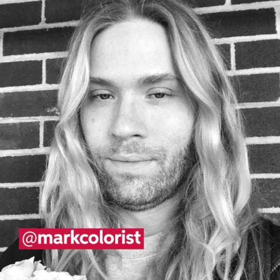 Mark DeBoult, a Wella Professionals stylist