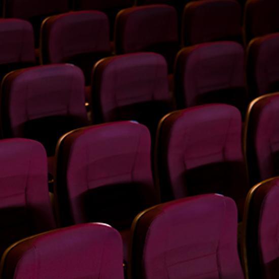 Image of dark purple chairs.