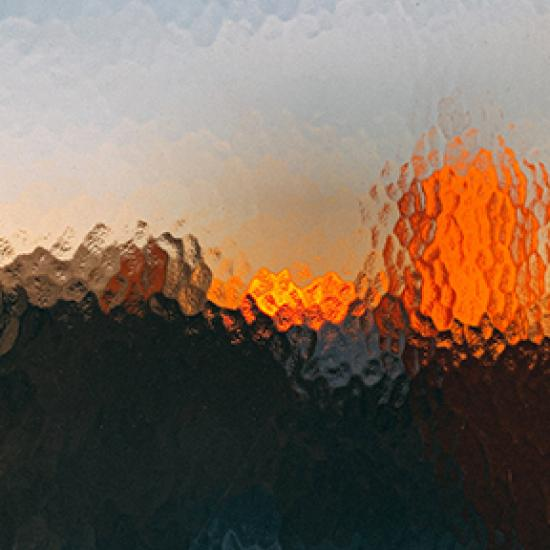Image of blurred glass window