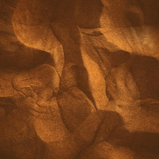Golden brown pattern.
