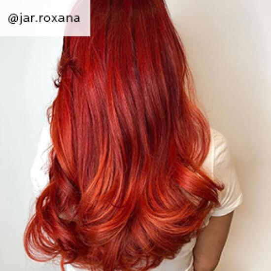 Image of soft Halloween Hair, created using Wella Professionals