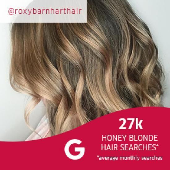 Side profile of woman with honey blonde, wavy bob, created using Wella Profes-sionals.
