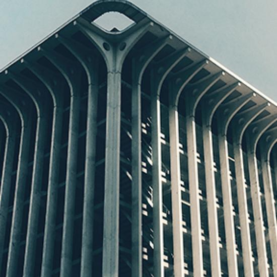 Tall building.