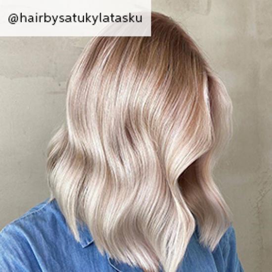 Image of Vanilla Latte Hair, created using Wella Professionals