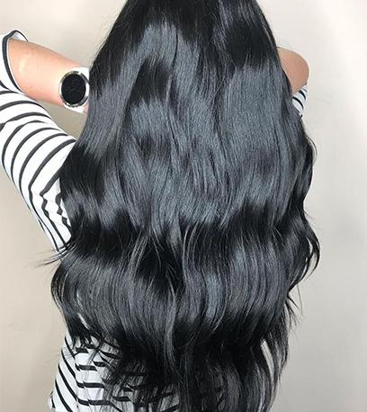 Image of creamy Halloween Hair, created using Wella Professionals
