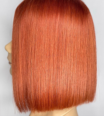 Image of straight Sunset Blonde Hair, created using Wella Professionals